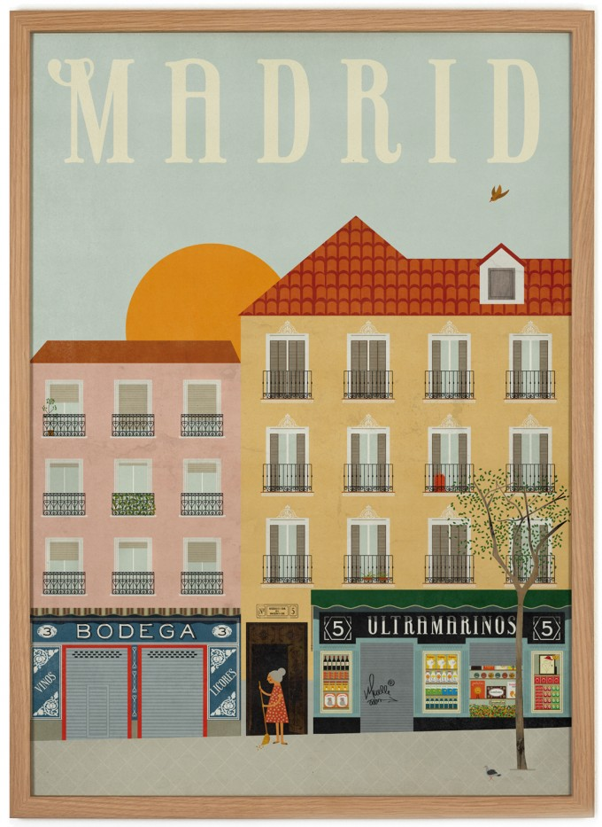 Human Empire Madrid Poster (50x70cm)