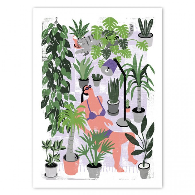 Human Empire Botanical Summer Poster (50x70cm)