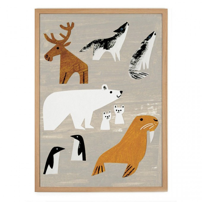 Human Empire Winteranimals Poster (50x70cm)