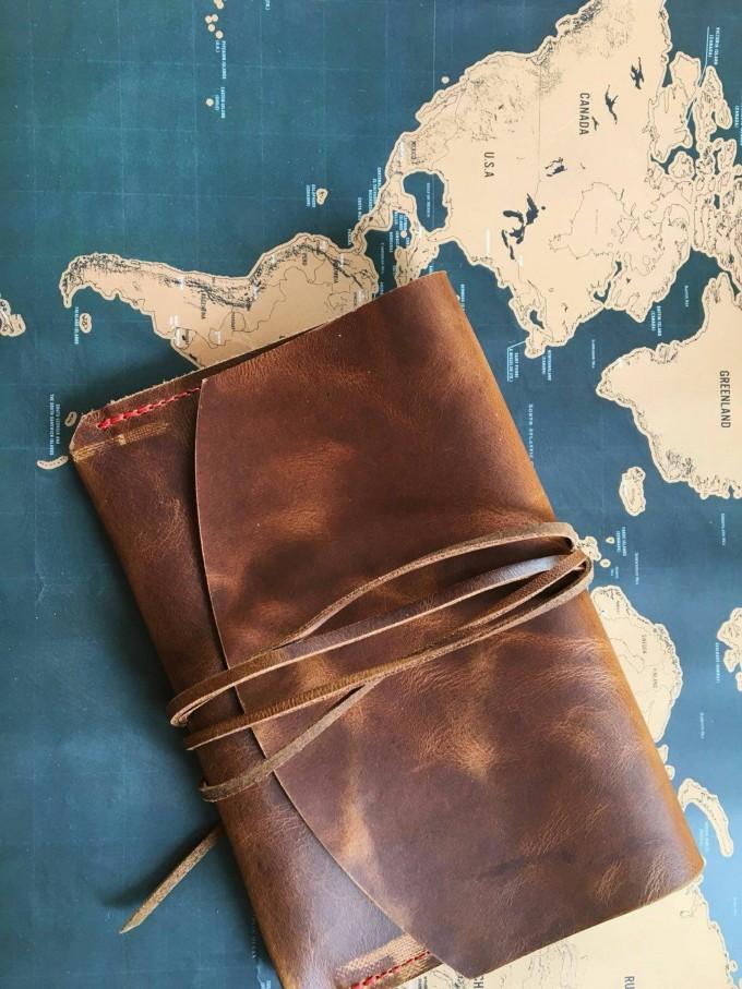 BSAITE / Reisepasshülle aus echtem Leder / Travelorganizer / Reiseetui / Tabakbeutel