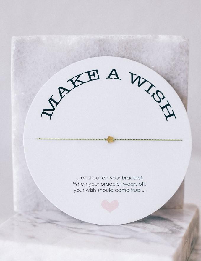 iloveblossom MAKE AWISH Armband // Amazonit