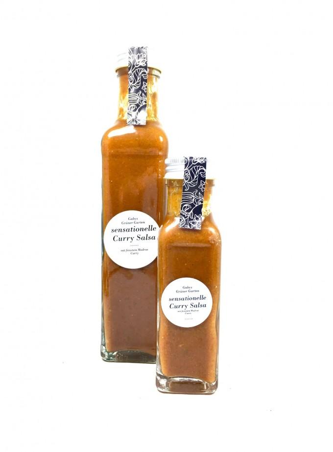 Gabys Grüner Garten sensationelle Curry Salsa (Sauce) 250ml