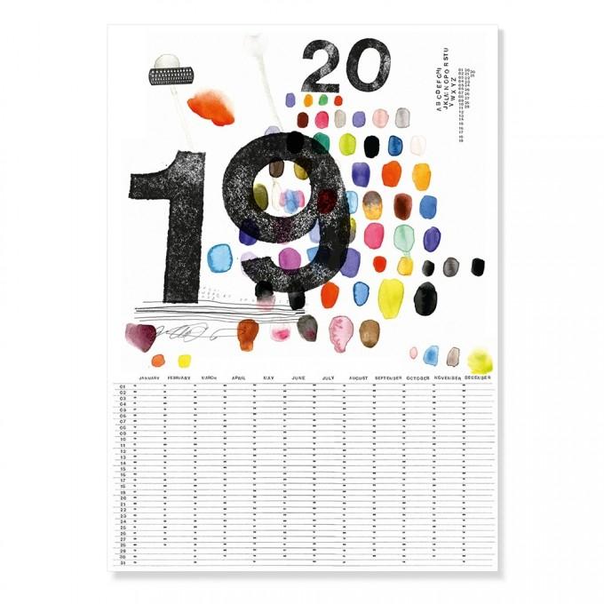 TYPE HYPE – Jahreskalender Made in Mitte 2019