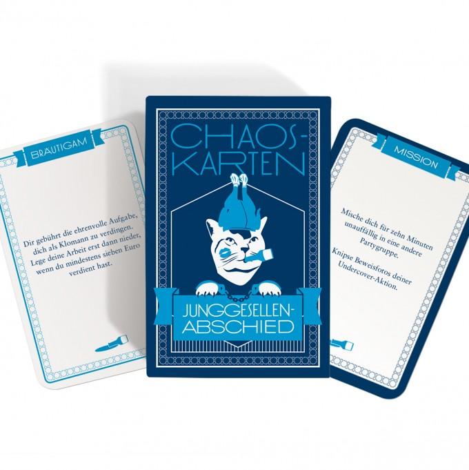 JGA Chaoskarten Junggesellenabschied Spiel