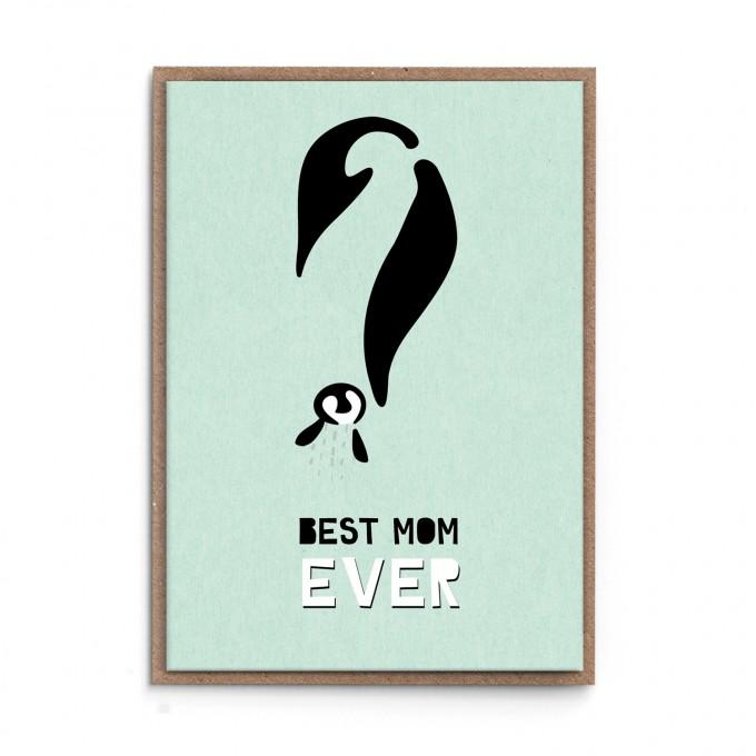 """sonst noch was? Grußkarte Muttertag """"Best Mom EVER"""""""