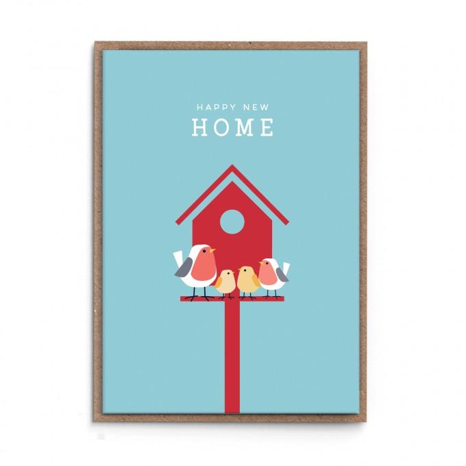 """sonst noch was? Grußkarte """"Happy New Home"""""""