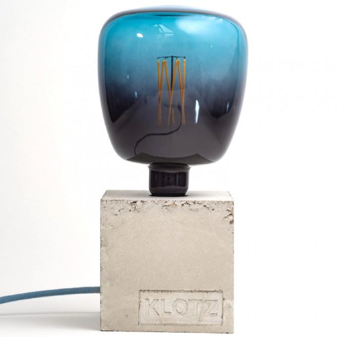 Klotz Betonlampe 'Meeresklotz'