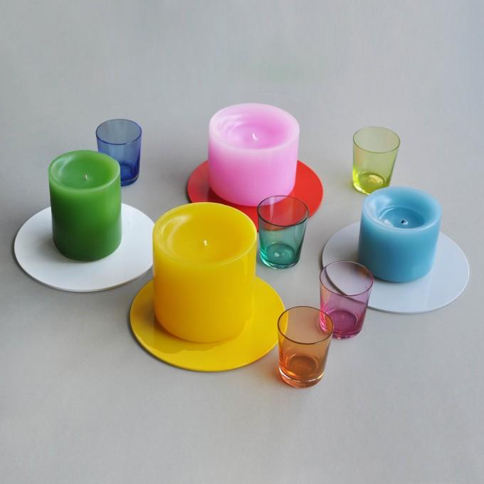 kolor candle plate Kerzenteller