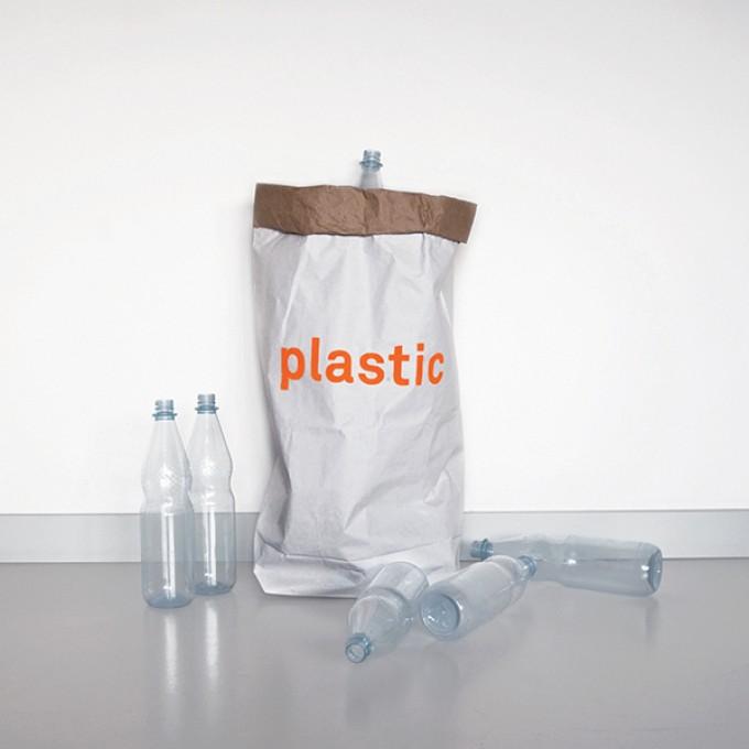 kolor Papiersack für Plastik