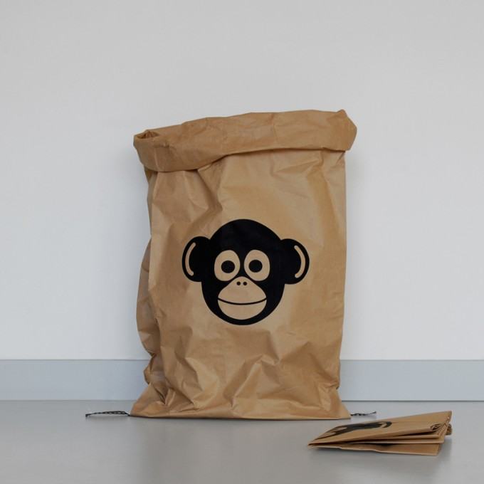kolor Papiersack Monkey
