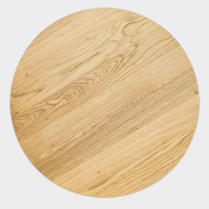 Lockengelöt Fass Möbel Zubehör: Tischplatte aus Eichenholz