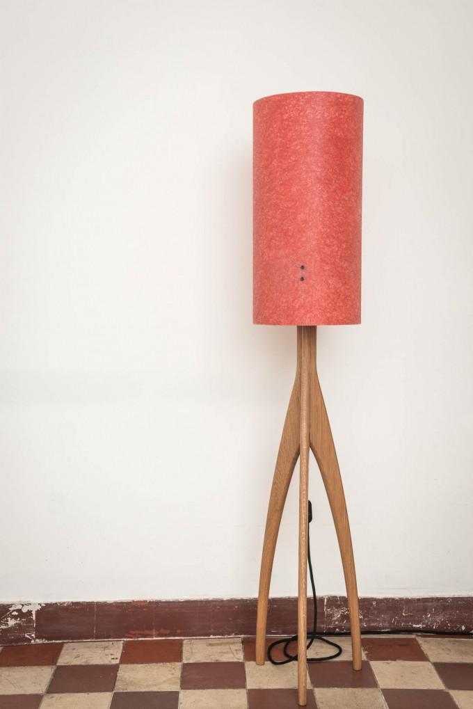 "Pirol Furnituring Lampe ""Rocket"", Eiche"