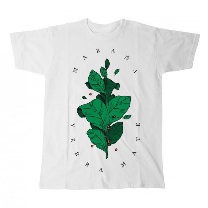 "Maraña T-Shirt ""Yerba Mate Tee Leaf"" Herren"