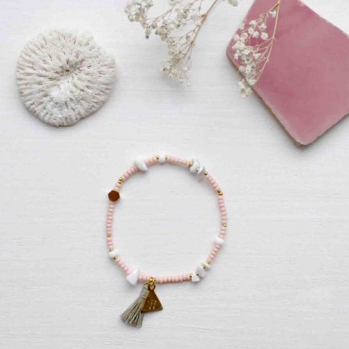 'Marbleous Yoga' organic Armband von Weiskönig Jewelry
