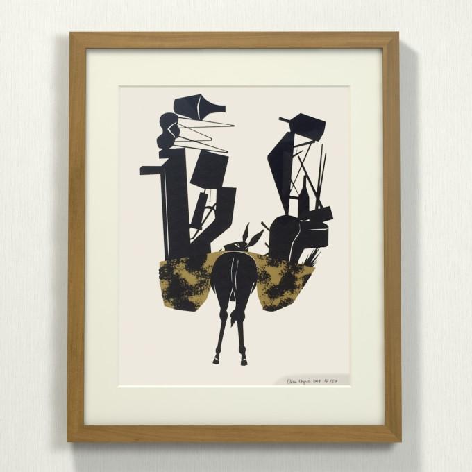 Print now - Riot later ● Midcentury Donkey Siebdruck