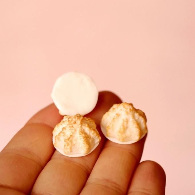 minischmidt miniKEKS Weihnachtsgebäck Kokosmakrönchen