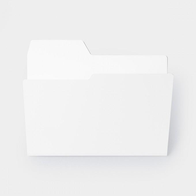 Njustudio Neuer Ordner Mappen-/Zeitschriftenhalter (DIN A4)