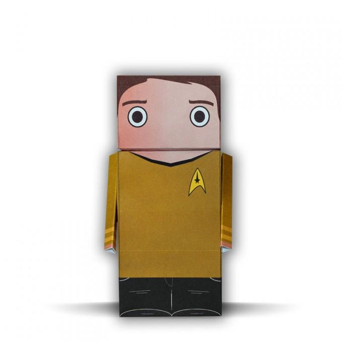 Captain Kirk | Star Trek | Paper Dudes