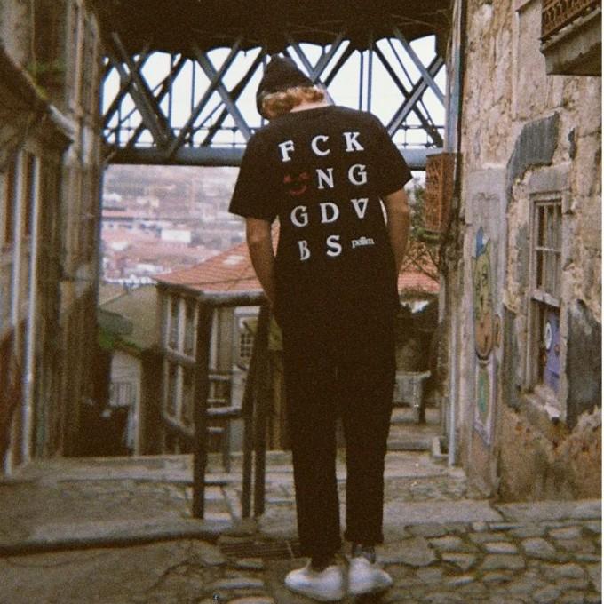 pellim. f*cking good vibes shirt schwarz