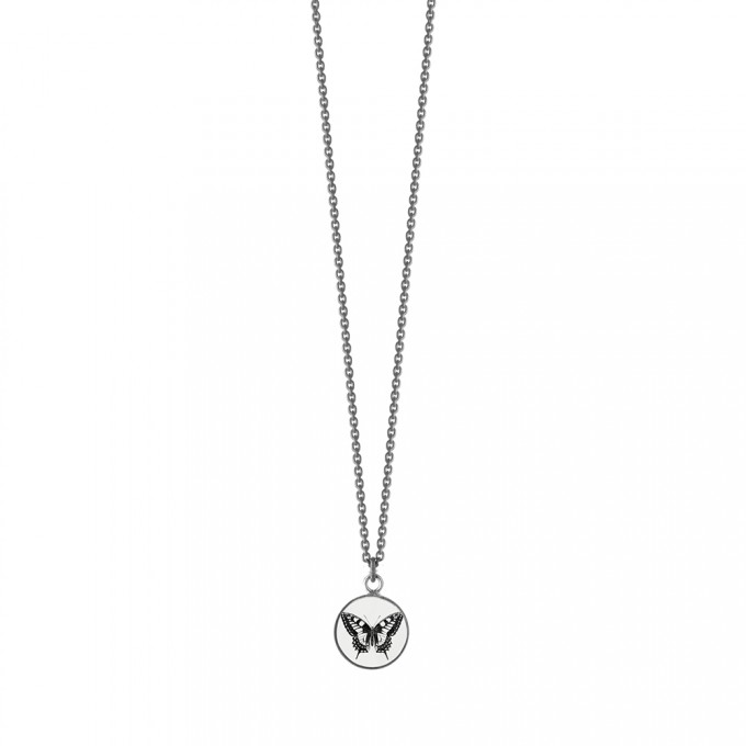 """anzu jewelry Halskette """"Schmetterling"""" geschwärzt"""