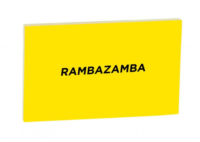 STUDIOBUEHLER Texttafel | RAMBAZAMBA