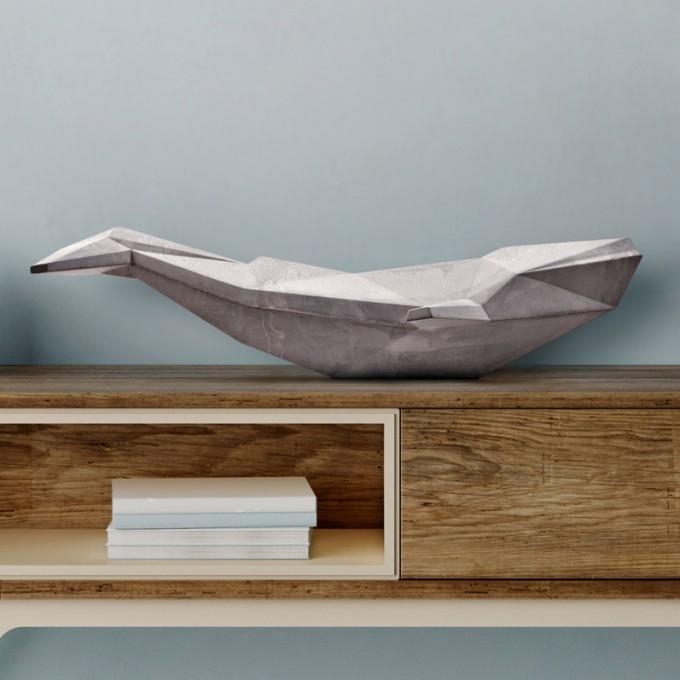 REHFORM Blauwal aus Beton