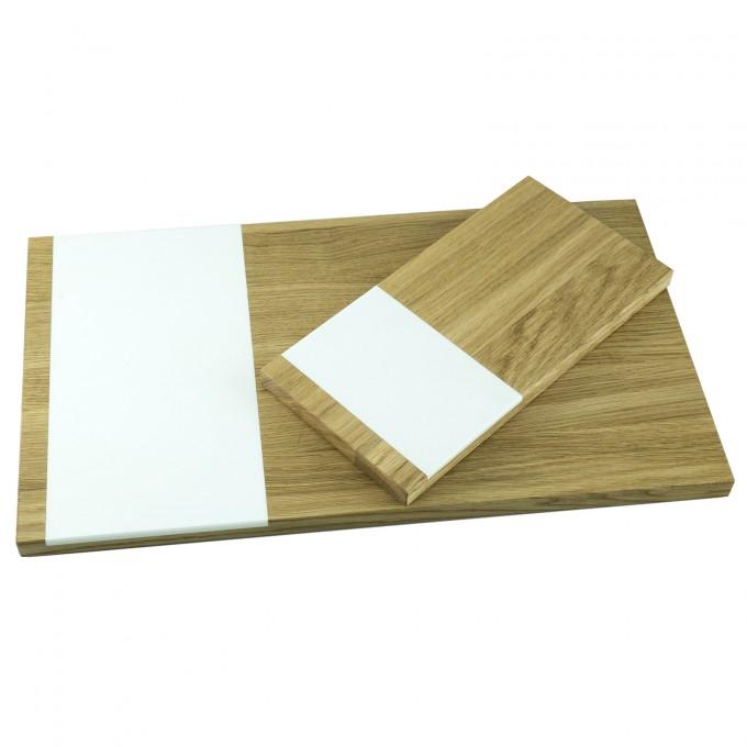 Schneidebrett 2er Set groß und klein | Küchenbrett | Holzbutiq