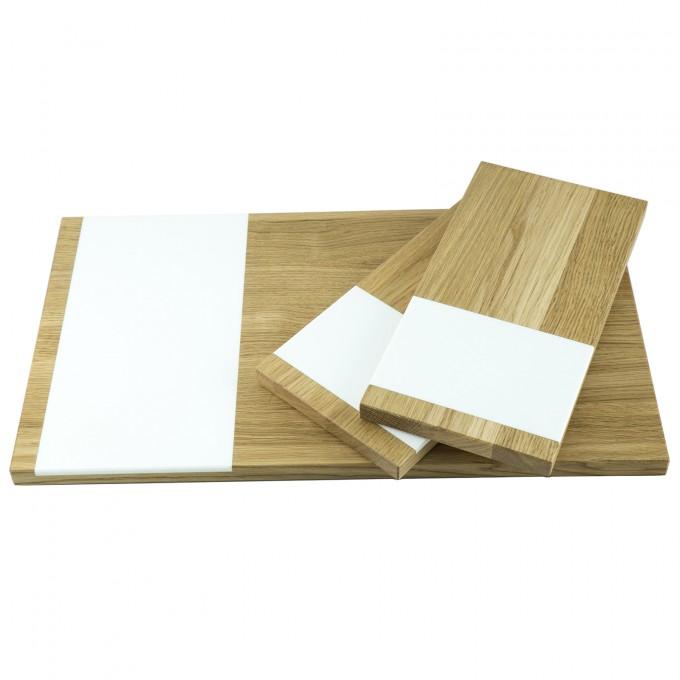 Schneidebrett 3er Set groß und klein | Küchenbrett | Holzbutiq