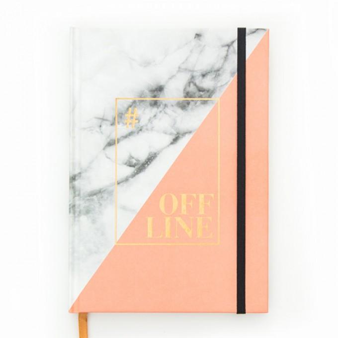 aprilplace // Offline // Notizbuch Schreibbuch Din A5