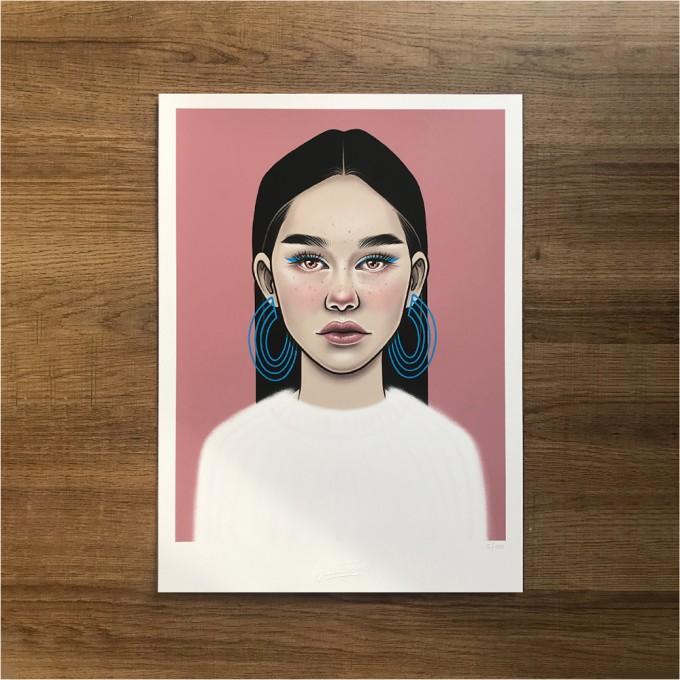 Juliana Fischer - Girls Girls Girls - No.5 - Kunstdruck, DIN A3