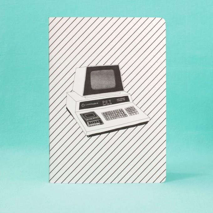polypodium / Notizheft - A5 - Commodore / Risodruck