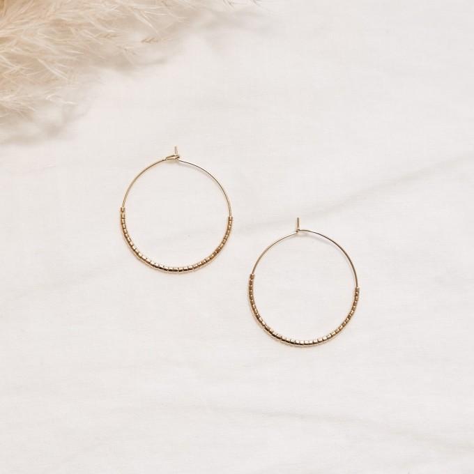EVE+ ADIS // SKINNY HOOPS gold