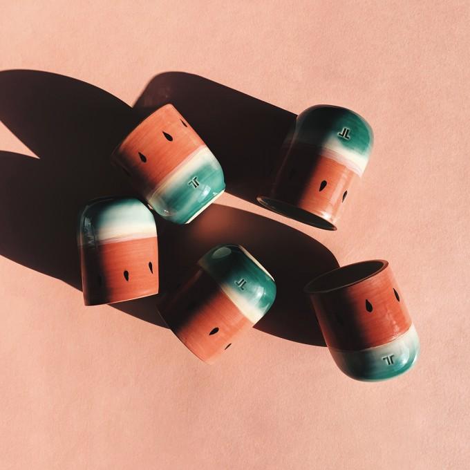 Tasse Melone // NOTON Keramik