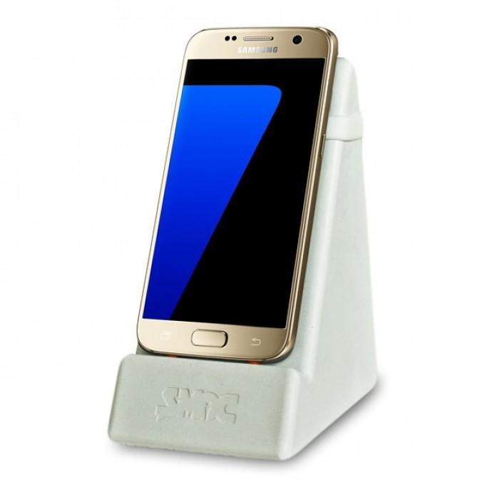SMOC - Smartphone- und Tablethalter (Smartphonedock) - Mittelgrau