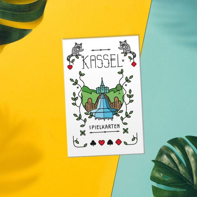 Stadtliebe®   Kassel Spielkarten-Set