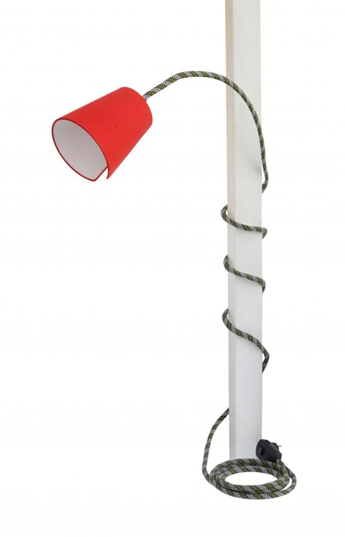 son of nils Climbing Lamp (cobra / rot)