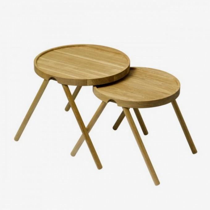 AUERBERG Tablett-Tischpaar (Design Tobias Grau)