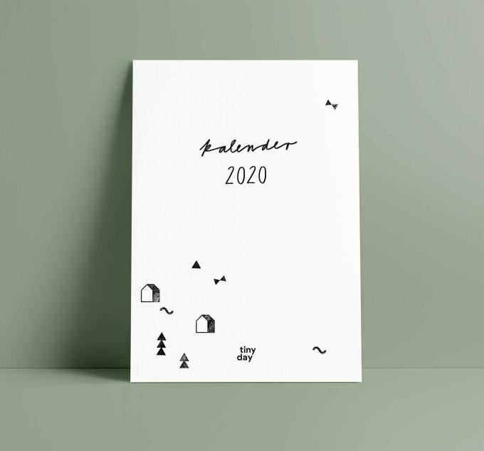 tinyday . Familienkalender 2020   A3