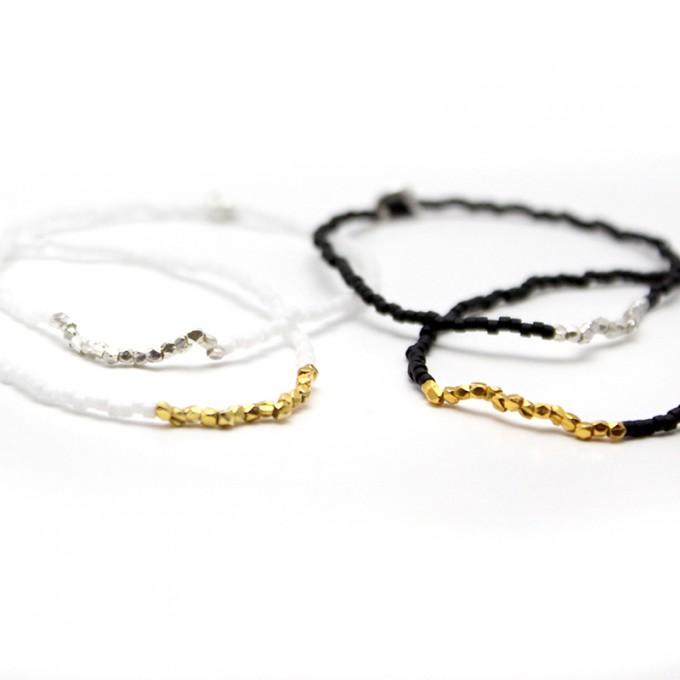 • tiny toho • Armband von Weiskönig Jewelry