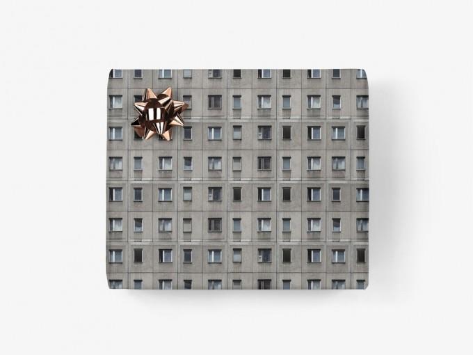 typealive / Geschenkpapier / Berliner Platte (gefaltet)
