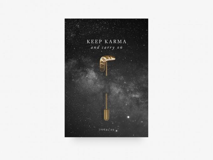 typealive / Pin / Karma