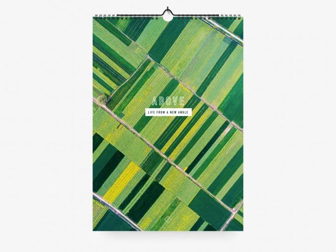 typealive / Wandkalender DIN A4 oder DIN A3  / Above