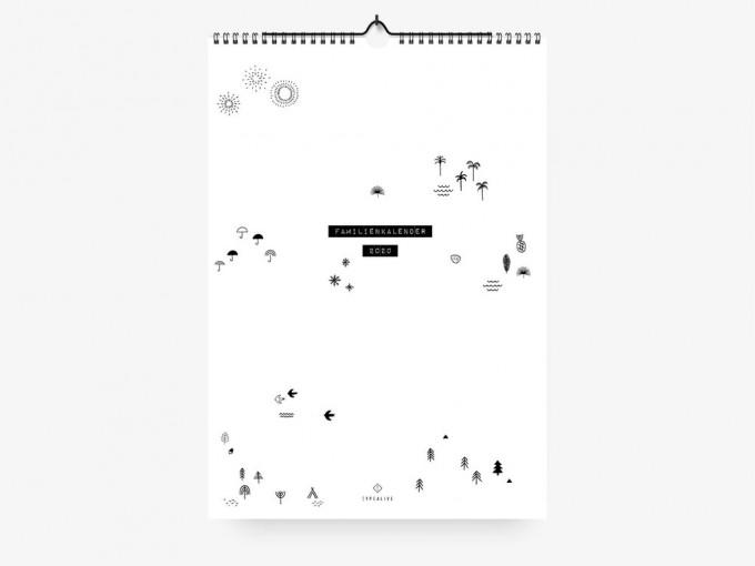 typealive / Familienkalender DIN A3 / Seasons