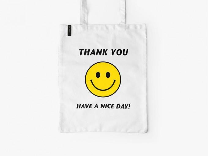 typealive / Baumwolltasche / Have A Nice Day
