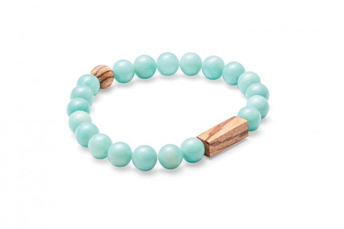 Zebrano Bracelet von BeWooden