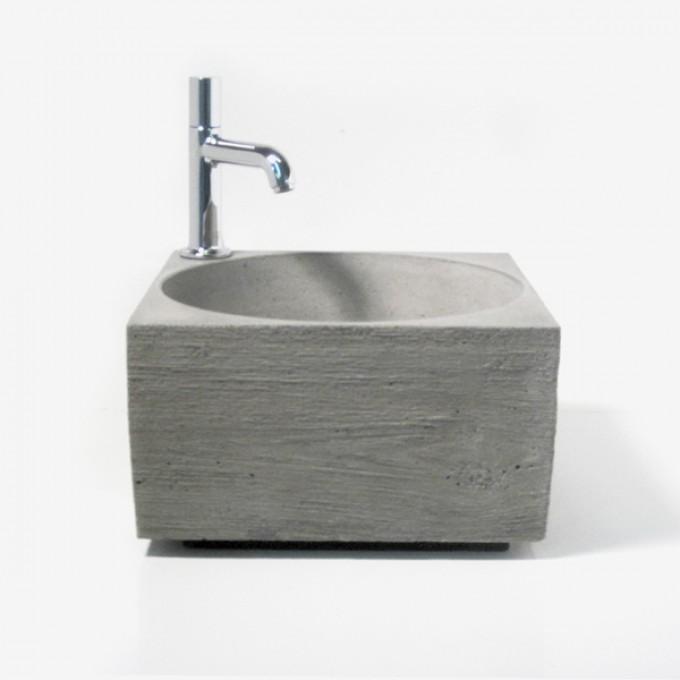 Handwaschbecken aus Beton von _WertWerke_