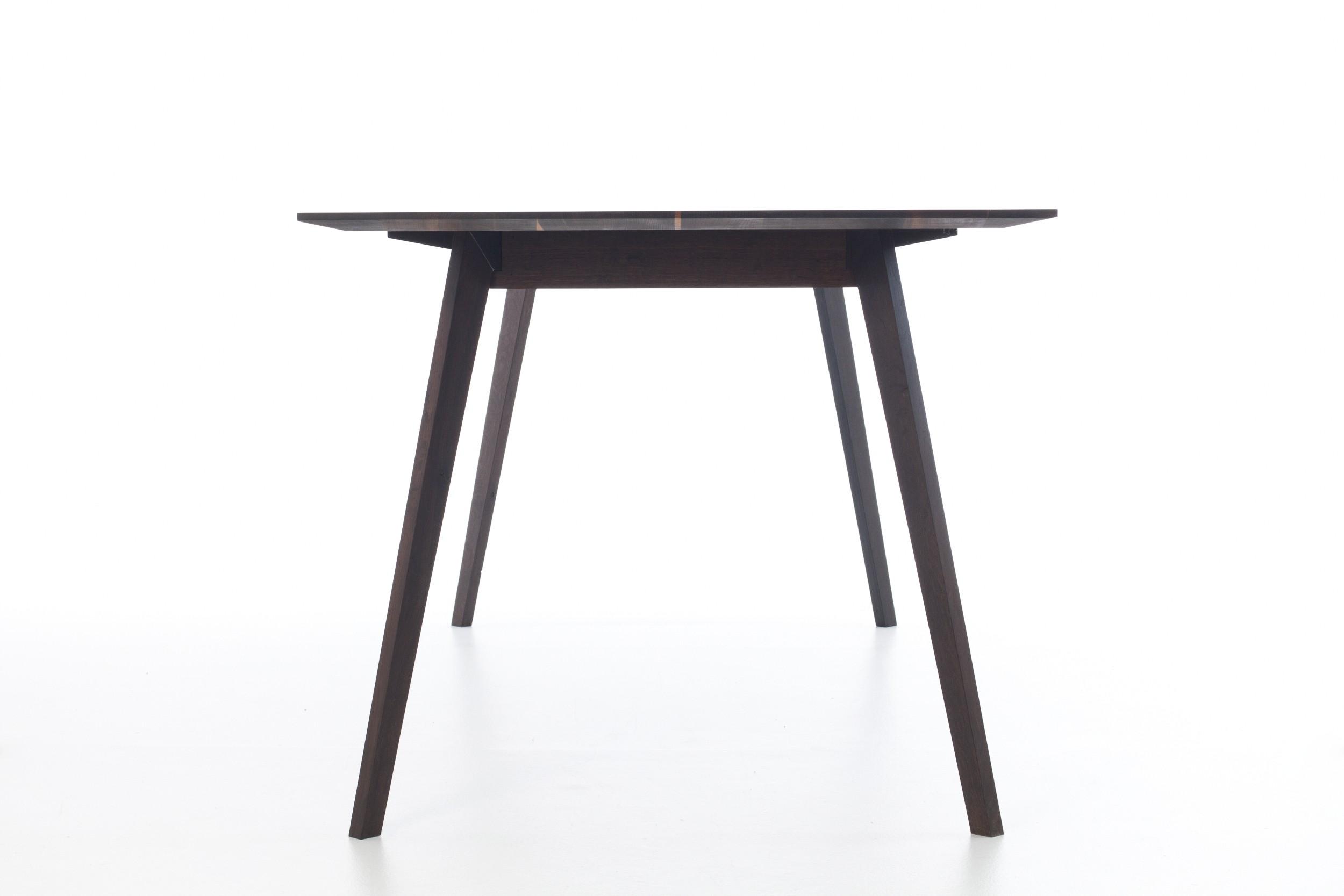 mein eichentisch tisch light eiche schwarz ger uchert. Black Bedroom Furniture Sets. Home Design Ideas