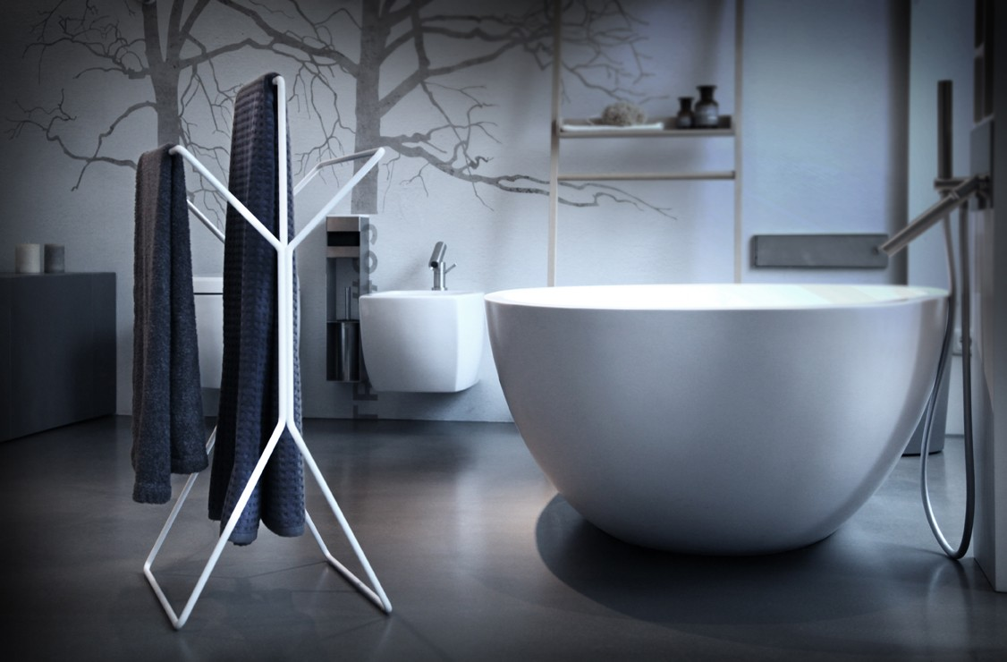 wingman design handtuchst nder und stummer diener wei. Black Bedroom Furniture Sets. Home Design Ideas