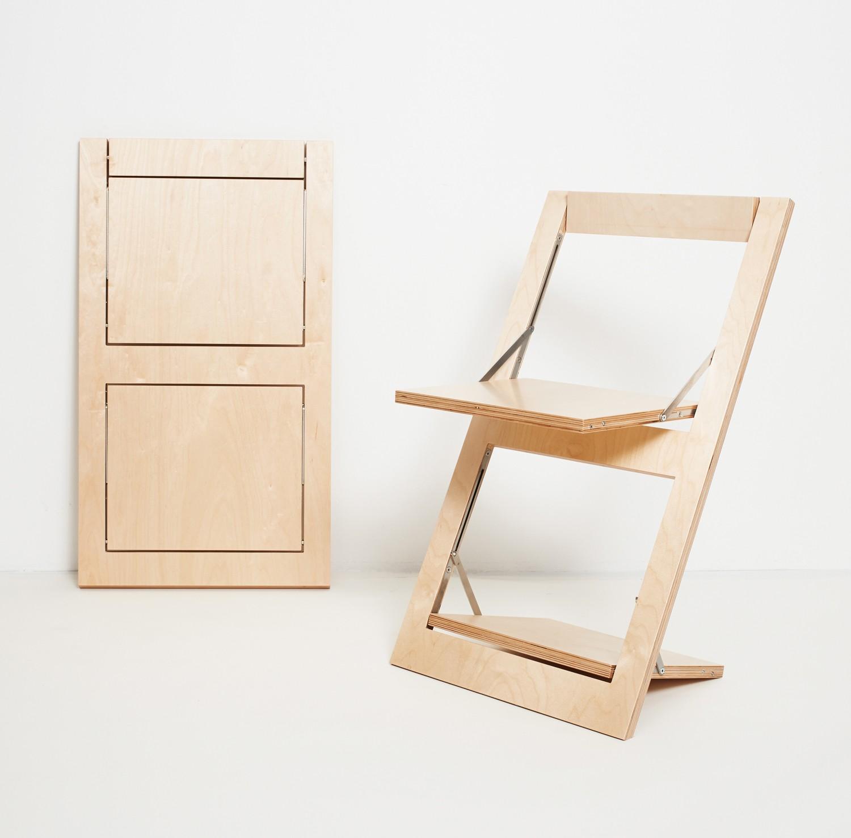 ambivalenz klappstuhl fl pps birke birke. Black Bedroom Furniture Sets. Home Design Ideas