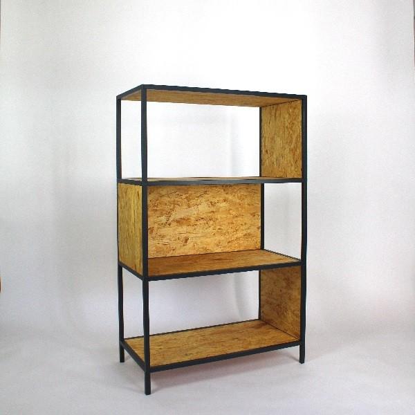 dan fred systemregal iv osb. Black Bedroom Furniture Sets. Home Design Ideas